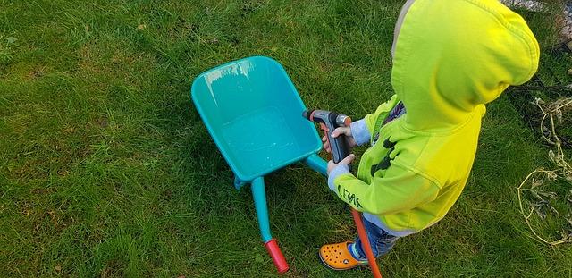 Skab sjov og leg i haven for børn
