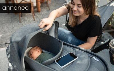 3 tips til når du skal på farten med din baby